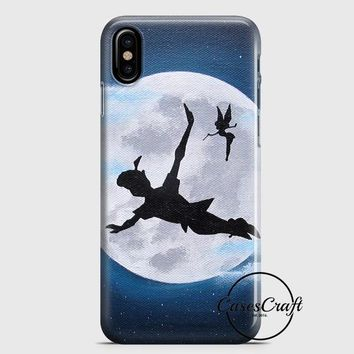 Peter Pan Silhouette iPhone X Case | casescraft
