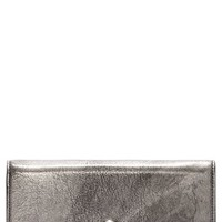Alexander McQueen Skull Leather Wallet on a Chain | Nordstrom