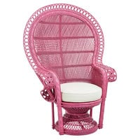 Peacock Chair, Hibiscus, Outdoor Club Chairs
