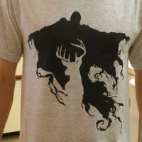 Dementor and Patronus Shirt by MerlinsWanderland on Etsy