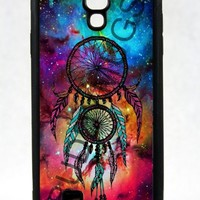 Fox Fur Nebula Galaxy Space Dreamcatcher One Piece Rubber Case Cover Samsung Galaxy S4 I9500 (Ships From Alabama) INCLUDES SCREEN PROTECTOR
