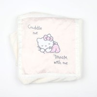 Hello Kitty Receiving Blanket: Cuddle With Me