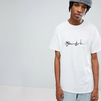 Mennace T-Shirt With Logo Embroidery at asos.com