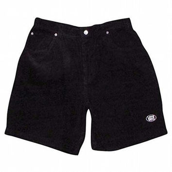 Vans - Mens Black Shaman Shorts