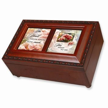Someone Special Double Picture Frame Music Box - Perfect Friendship Gift