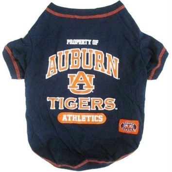 DCCKT9W Auburn Tigers Pet Tee Shirt