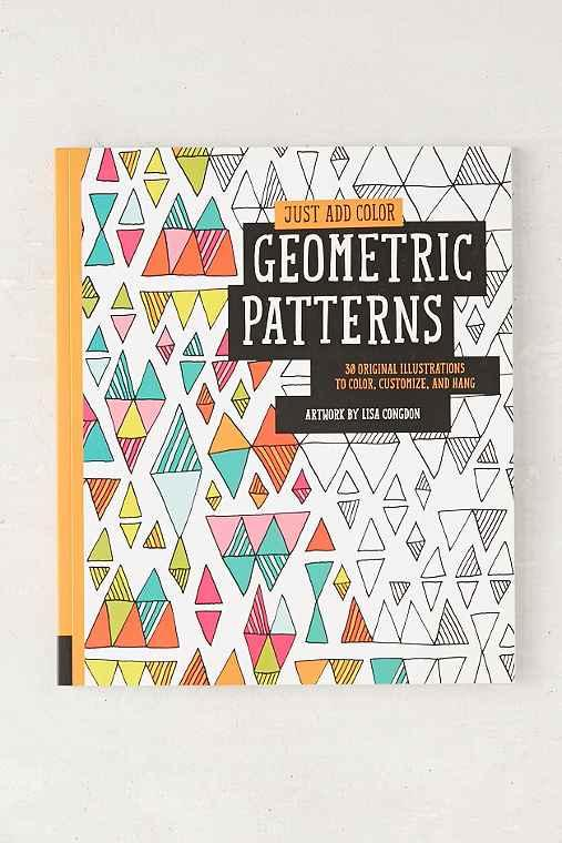 Just Add Color Geometric Patterns 30 From Urban Outfitters