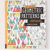 Just Add Color: Geometric Patterns: 30 Original Illustrations To Color, Customize, And Hang By Lisa Congdon - Assorted One