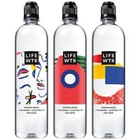 LIFEWTR, Purified Water, pH Balanced with Electrolytes For Taste, 700 mL flip cap bottles (12 Count) - Walmart.com