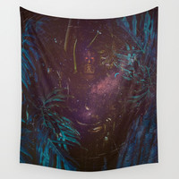 Universe Watcher Wall Tapestry by Lostanaw
