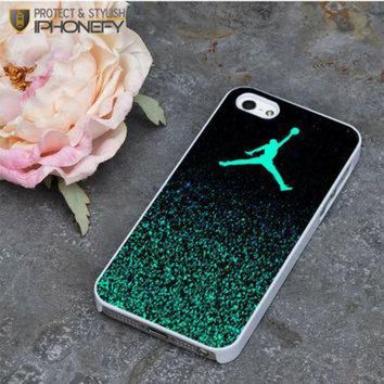 CREYUG7 Nike Air Jordan Jump Mint Glitter iPhone 5|5S Case|iPhonefy