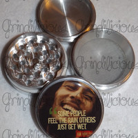 Bob Marley Some People Feel The Rain 4 Piece Pollen Herb Grinder Grinders
