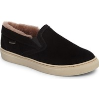 Cougar Fawn Waterproof Genuine Shearling Slip-On (Women) | Nordstrom