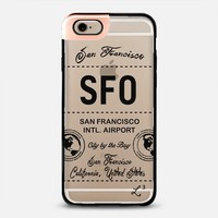 SFO - San Francisco, CA - Travel The World iPhone 6 case by Love Lunch Liftoff | Casetify