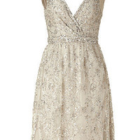 STYLEBOP.com | Antique Silver Sequin Dress by COLLETTE DINNIGAN | the latest trends from the capitals of the world