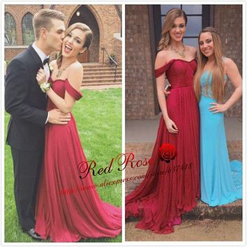 Sweetheart Burgundy Prom Dresses with Spaghetti Straps and Pleats Long Fitted Prom Dresses Vestidos de Noite