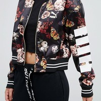 Puma Statement Bomber Jacket at asos.com