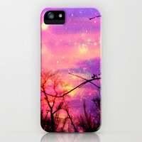 Sunset Of Stars iPhone & iPod Case by Oksana's Art