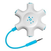 Belkin Rockstar Multi Headphone Splitter (Blue)
