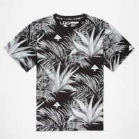Lrg Allover Palmodoro Mens T-Shirt Black/White  In Sizes