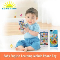 Funny Toy Phones Kids Baby Mobile Elephone English Learning Educational Mobile Phone Toys Popular Kids Baby Toys