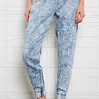 Sparkle & Fade Sweat Pants in Acid Wash at Urban Outfitters