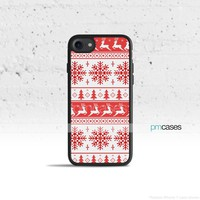 Red Tribal Christmas Phone Case Cover for Apple iPhone iPod Samsung Galaxy S & Note