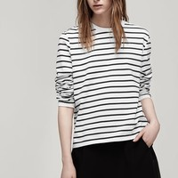 Rag & Bone - Boy Long Sleeve Tee, Bright White