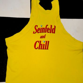 SWEET LORD O'MIGHTY! SEINFELD AND CHILL CROP TANK
