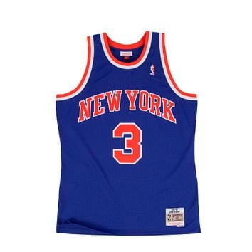 Mitchell & Ness New York Knicks John Starks 1991-92 Swingman Jersey