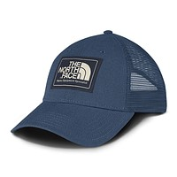 Mudder Trucker Hat in Shady Blue & Urban Navy by The North Face -FINAL SALE