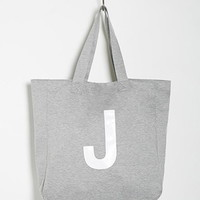 Initial Graphic Oversized Tote