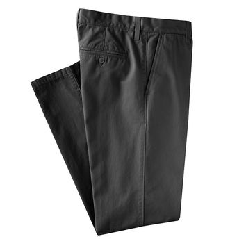 SONOMA life + style Twill Straight-Fit Flat-Front Pants, Size: 38X29 (Grey)