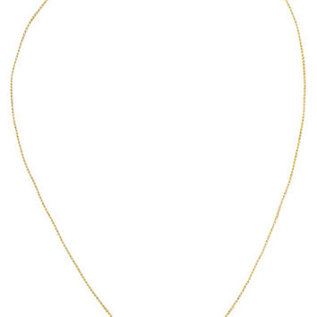 Pippa Small - 18-karat gold diamond necklace