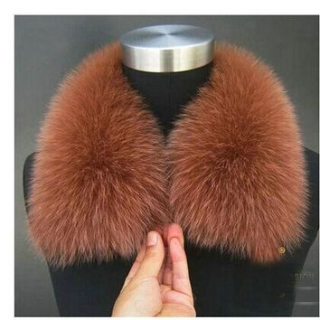 2015 Winter Fashion Scarves & Wraps Collars The Fox Fur Collars Scarves 20 Color Female Fur Scarf Collar Specials