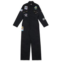 Itchy Scratchy Patchy Dickies Boiler Suit (Black) Size 38