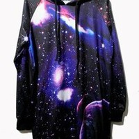 Galaxy Print Hoodie from from:US to:YOU