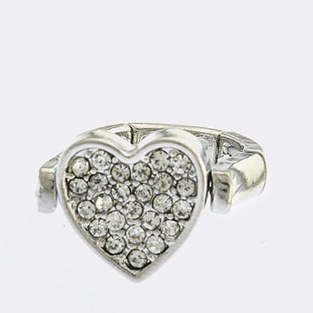 Heart Love Ring - Movable