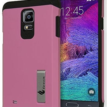 Samsung Galaxy Note 4, Pink   Hybrid Case, Protective Cover