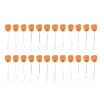 Pic Wire Metal Handle Fly Swatter (24 Packs)