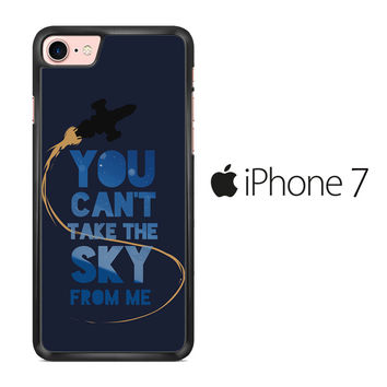 Firefly Serenity Quote iPhone 7 Case