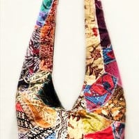 Batik Patchwork Shoulder Bag