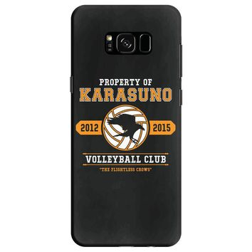 Property of Karasuno High School Volleyball Club Samsung Galaxy S8