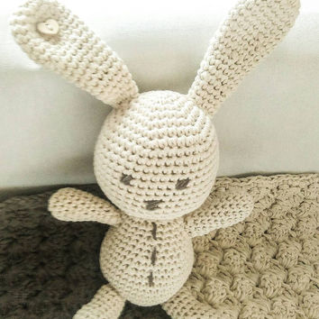 Baby gift, crochet bunny, amigurumi animal, amigurumi bunny, Easter bunny,natural baby toy, ecological toys, Easter gift