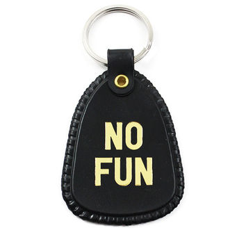 No Fun Keychain
