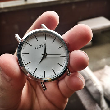 Silver Two Riche watch