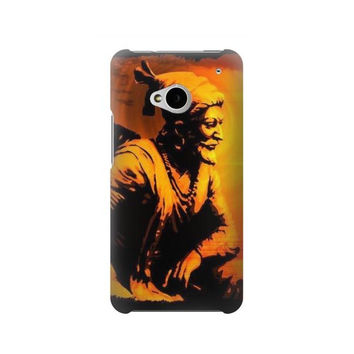P1105 Shivaji Maharaj Rajesh Khilari Case For HTC ONE M7