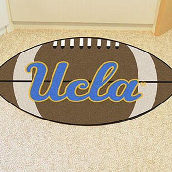 FANMATS UCLA Football Mat - Man Cave, Bar, Game Room
