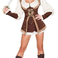 Beautiful Pirate Maiden Costume