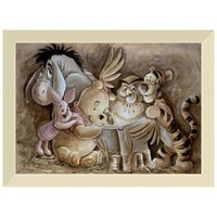 ''Pooh and Company'' Winnie the Pooh Giclée by Darren Wilson | Disney Store